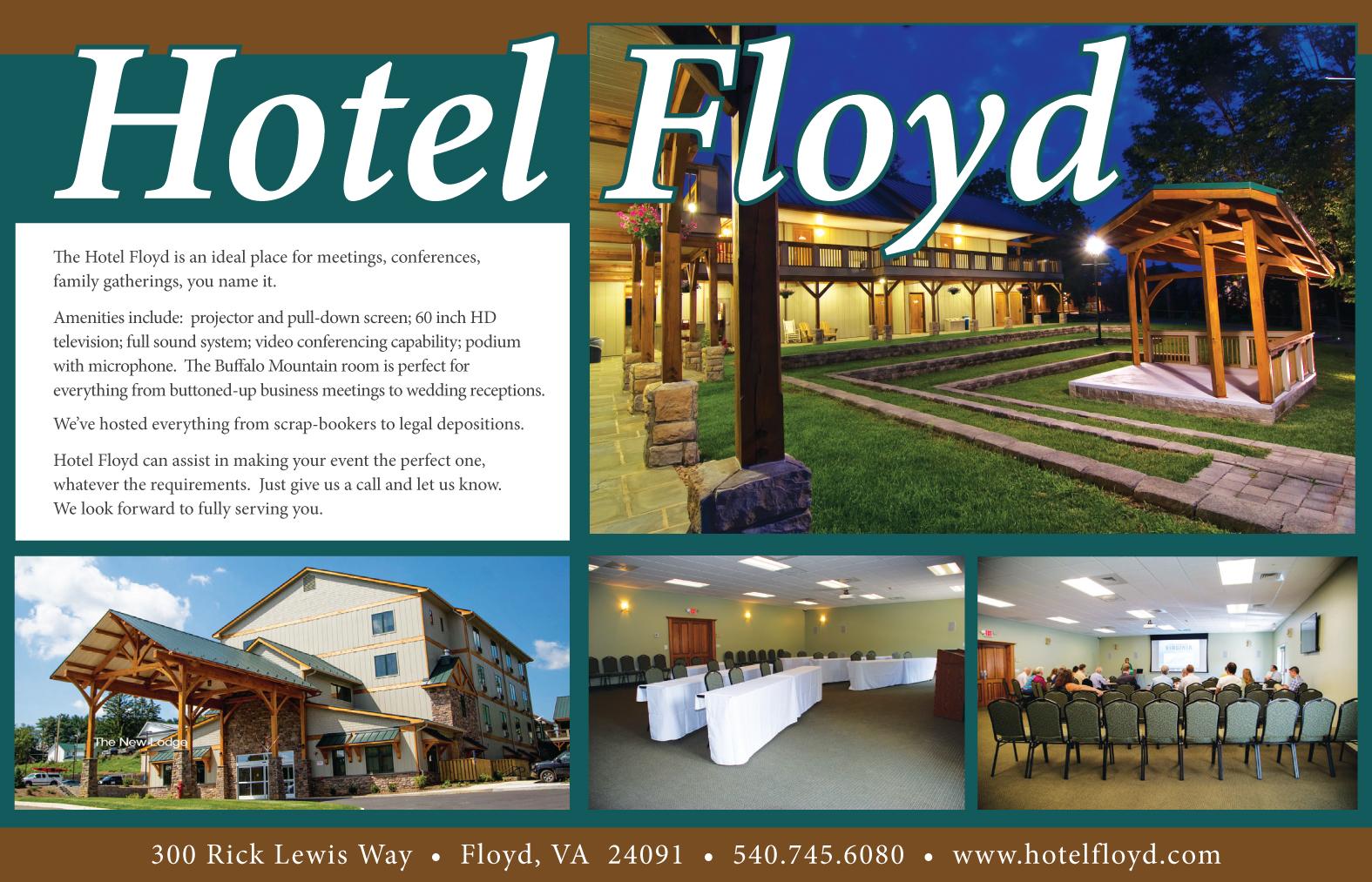 Hotel Floyd | Floyd Virginia Magazine