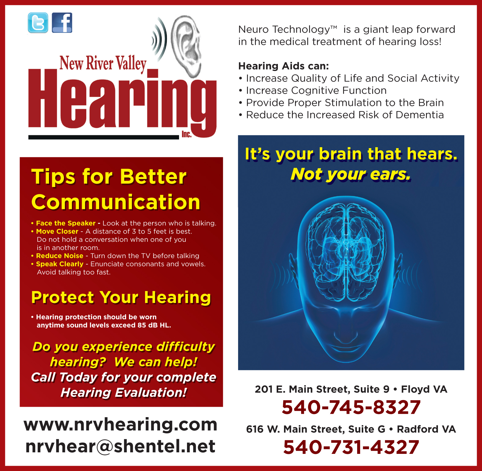 Nrv Hearing Floyd Virginia Magazine