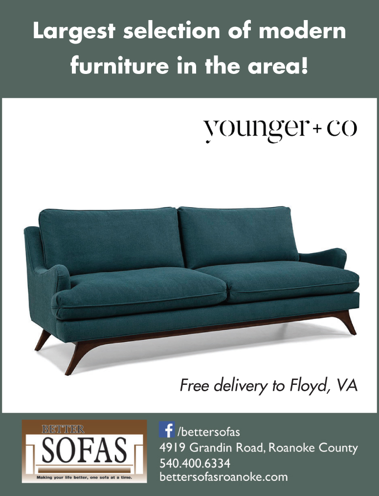 Better Sofas Floyd Virginia Magazine